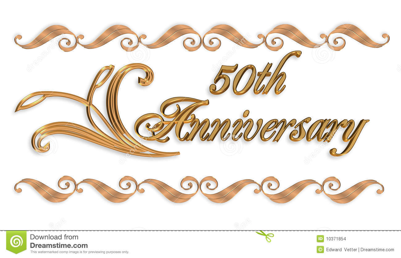 25 anniversary · 50th anniversary - PNG HD 50Th Wedding Anniversary