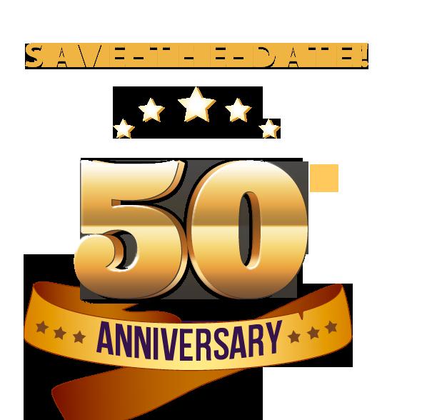 50 - PNG HD 50Th Wedding Anniversary