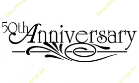 PNG HD 50Th Wedding Anniversary - 129469