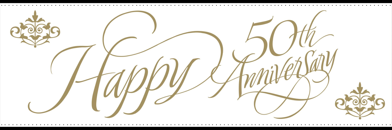 PNG HD 50Th Wedding Anniversary - 129478