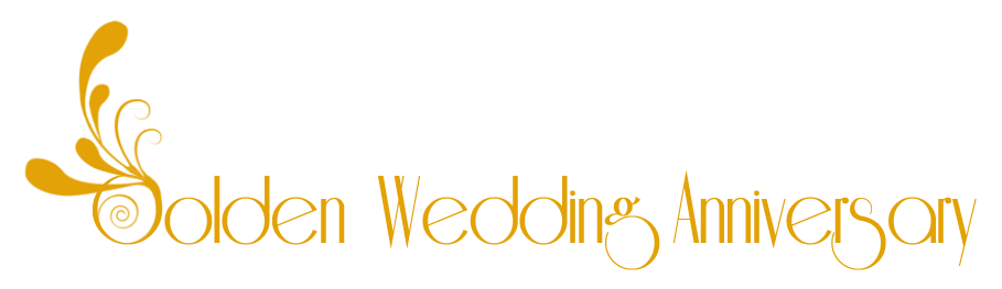Clipart 50th Wedding Anniversary 21 - PNG HD 50Th Wedding Anniversary