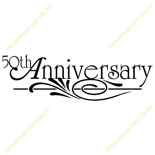 Clipart 50Th Wedding Anniversary - PNG HD 50Th Wedding Anniversary