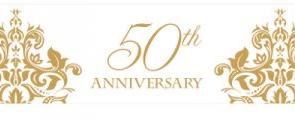 PNG HD 50Th Wedding Anniversary - 129473