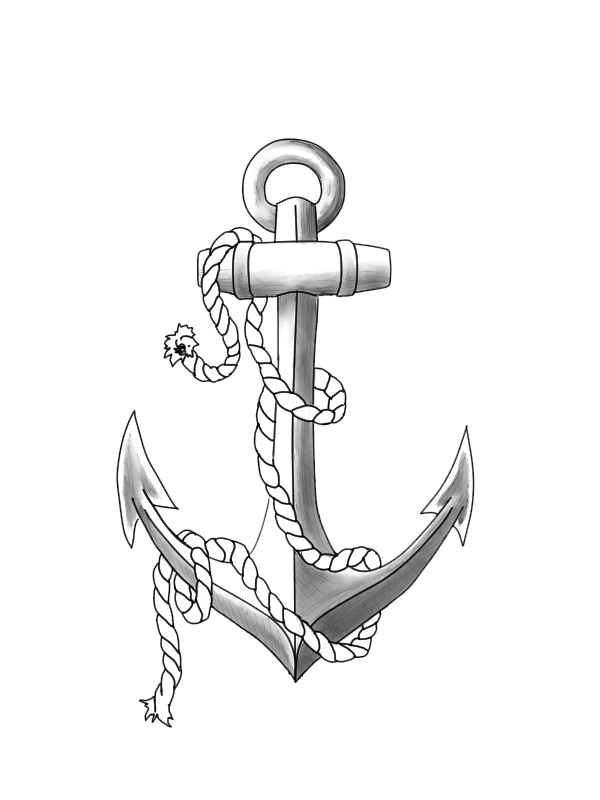 Anchor Tattoos Png Clipart PNG Image - PNG HD Anchor