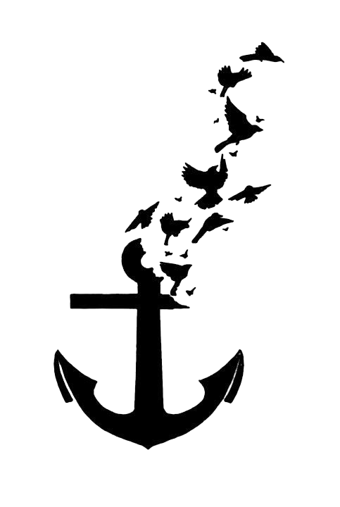 Anchor Tattoos Transparent PNG Image - PNG HD Anchor