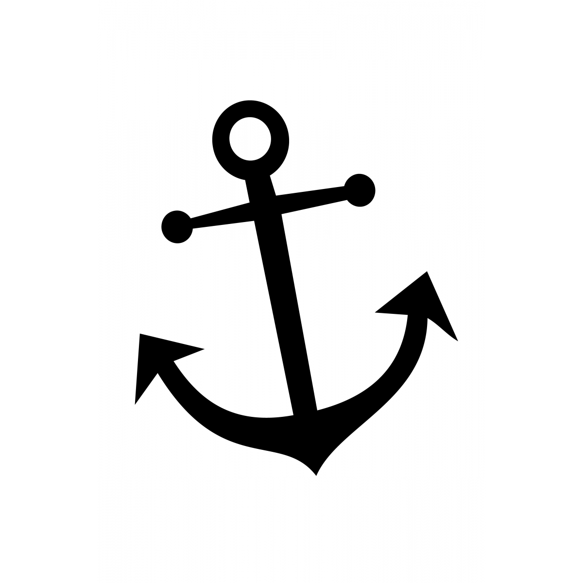 Lux Anchor - Brown - PNG HD Anchor