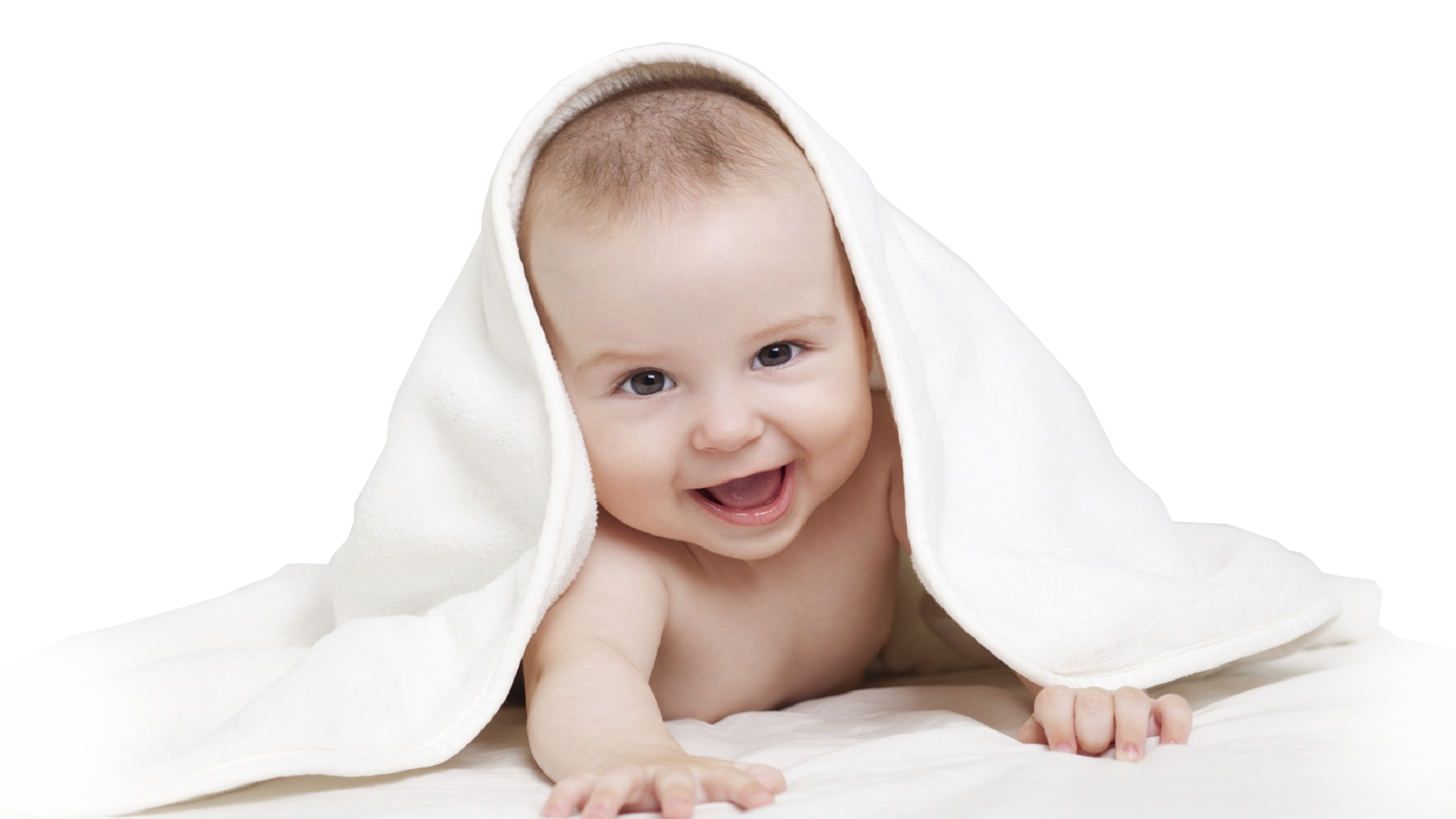 Baby White Background Image - PNG HD Baby
