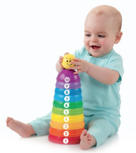 Fisher-Price Brilliant Basics Stack u0026 Roll Cups Set - PNG HD Baby