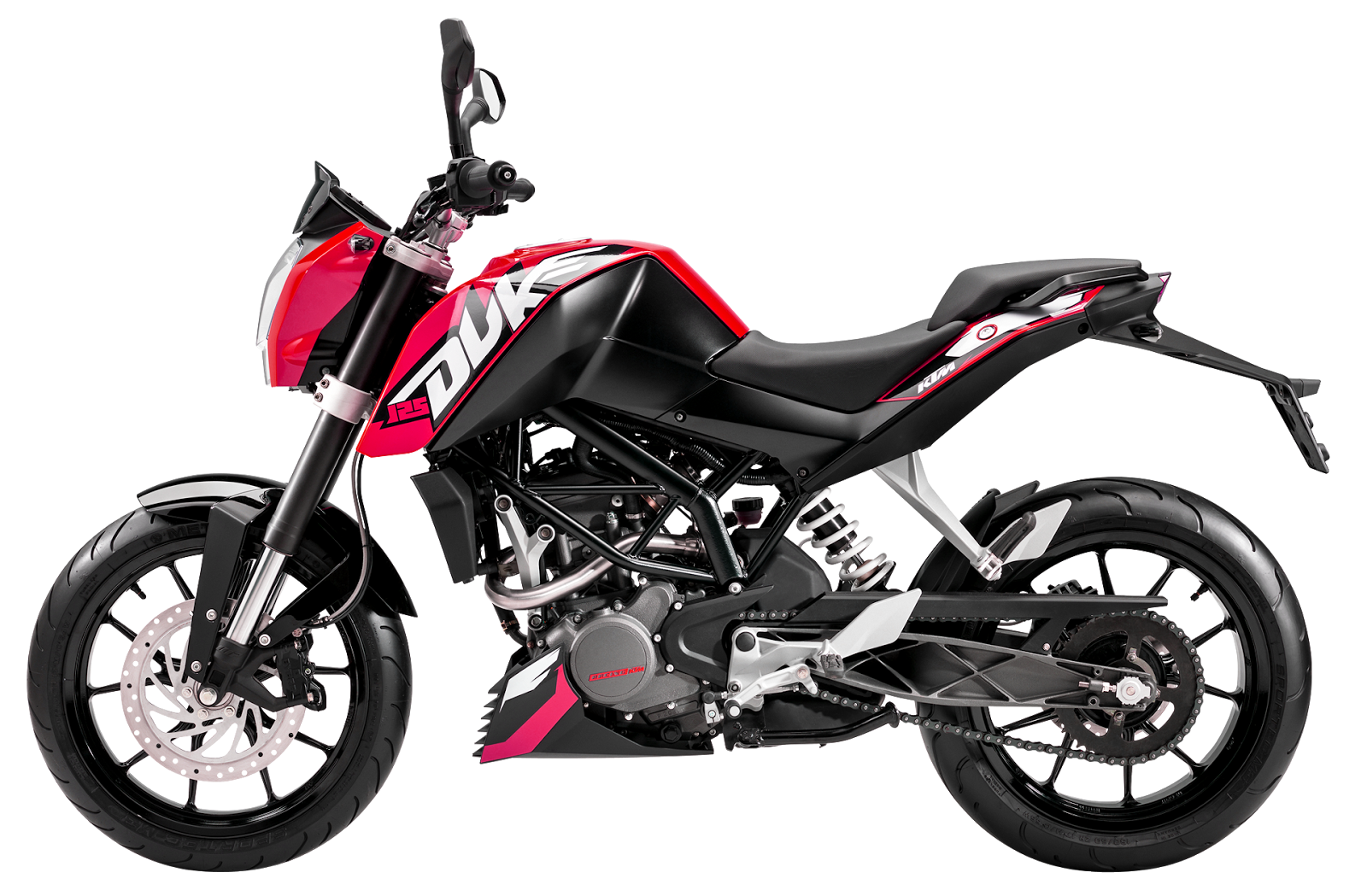 Ktm Duke Bike Png Download - PNG HD Bike