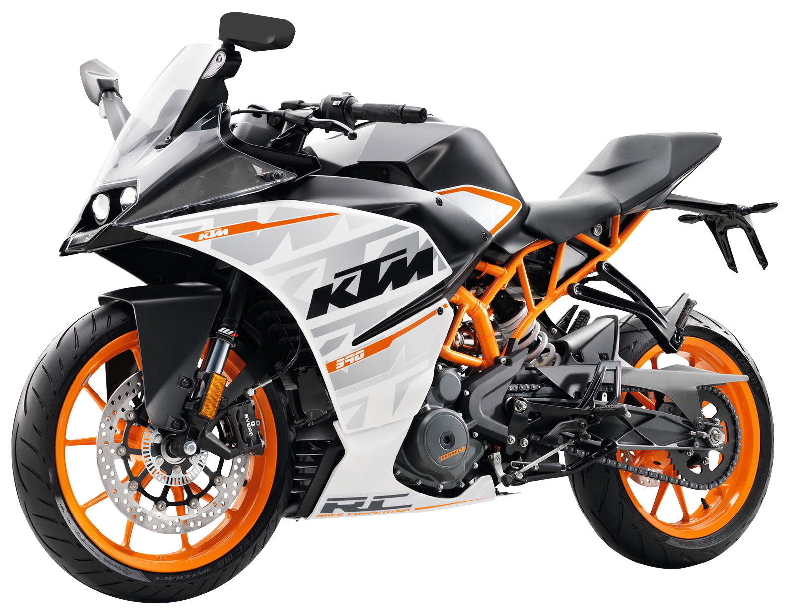 KTM RC 390 Motorcycle Bike PNG Image - PNG HD Bike