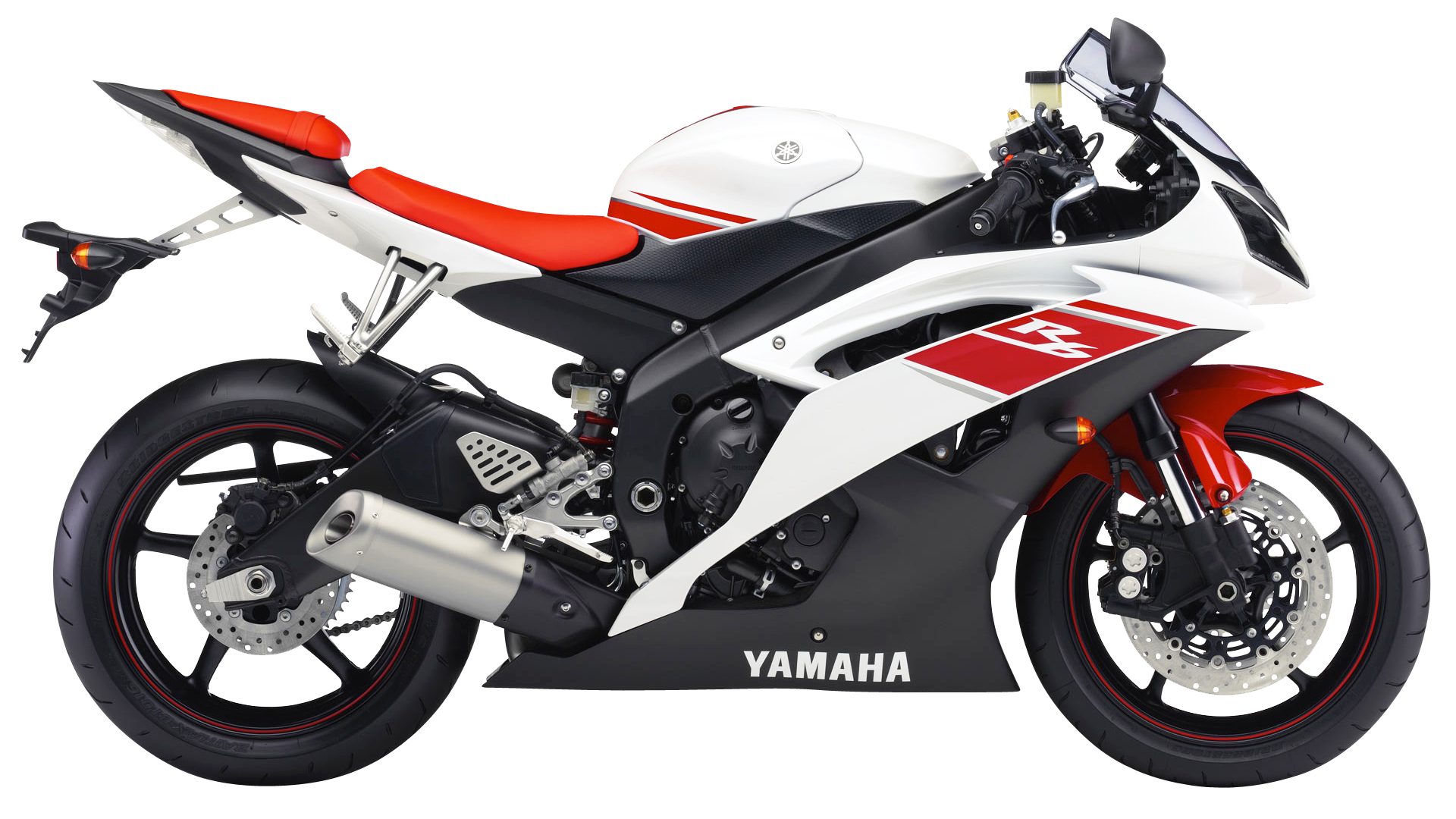 Yamaha YZF R6 Sport Motorcycle Bike PNG Image - PNG HD Bike