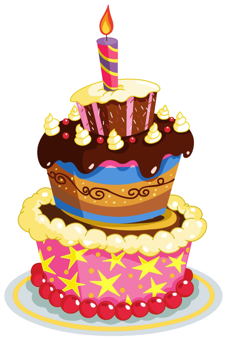 Birthday Cake Picture PNG Image - PNG HD Birthday Cake And Balloons