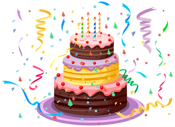 Birthday Cake Png File PNG Image - PNG HD Birthday Cake And Balloons