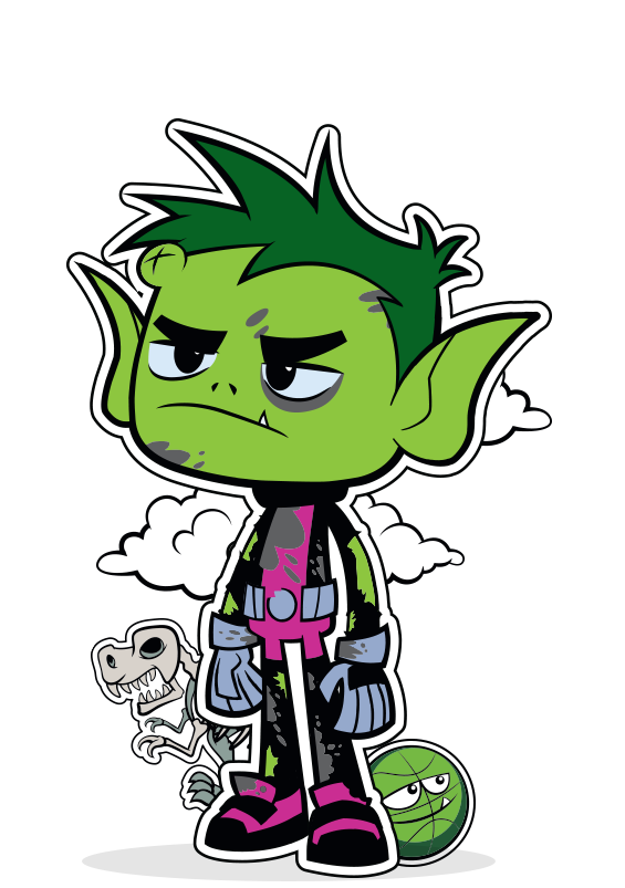 Beast Boy PNG HD