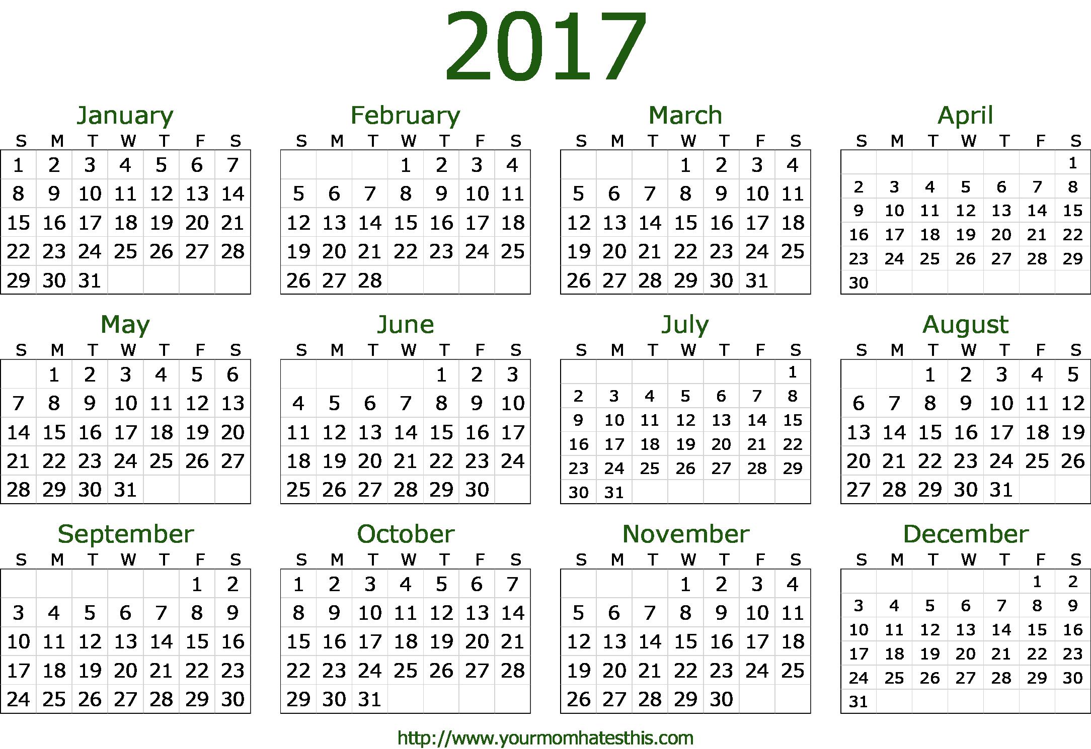 PNG HD Calendar - 125186
