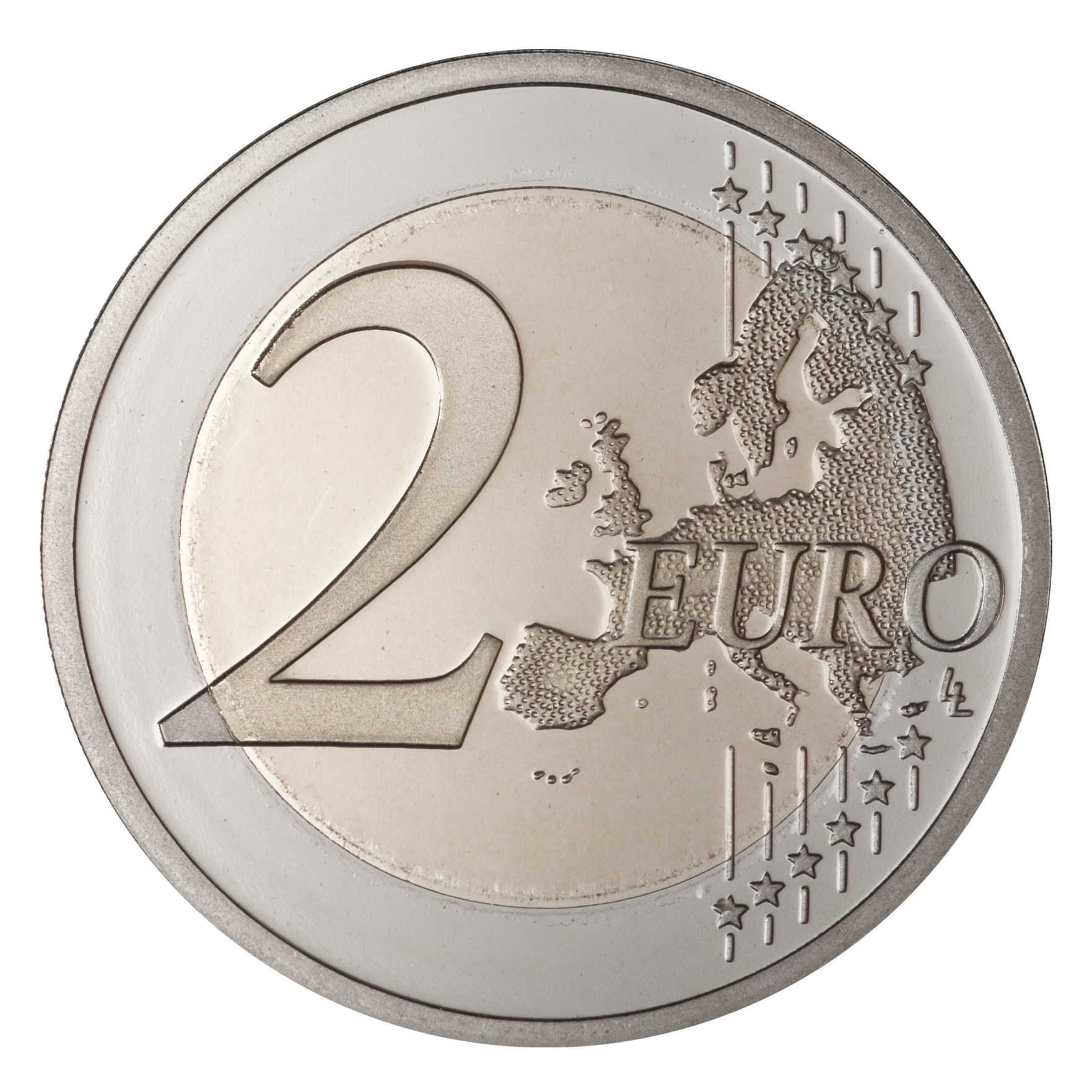 Coin 2 euro PNG image - Coin HD PNG - PNG HD Coins