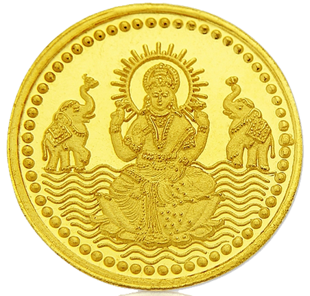 Lakshmi Gold Coin PNG File - Gold Coins PNG HD - PNG HD Coins
