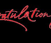PNG HD Congratulations - 137804