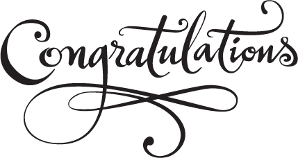 PNG HD Congratulations - 137799