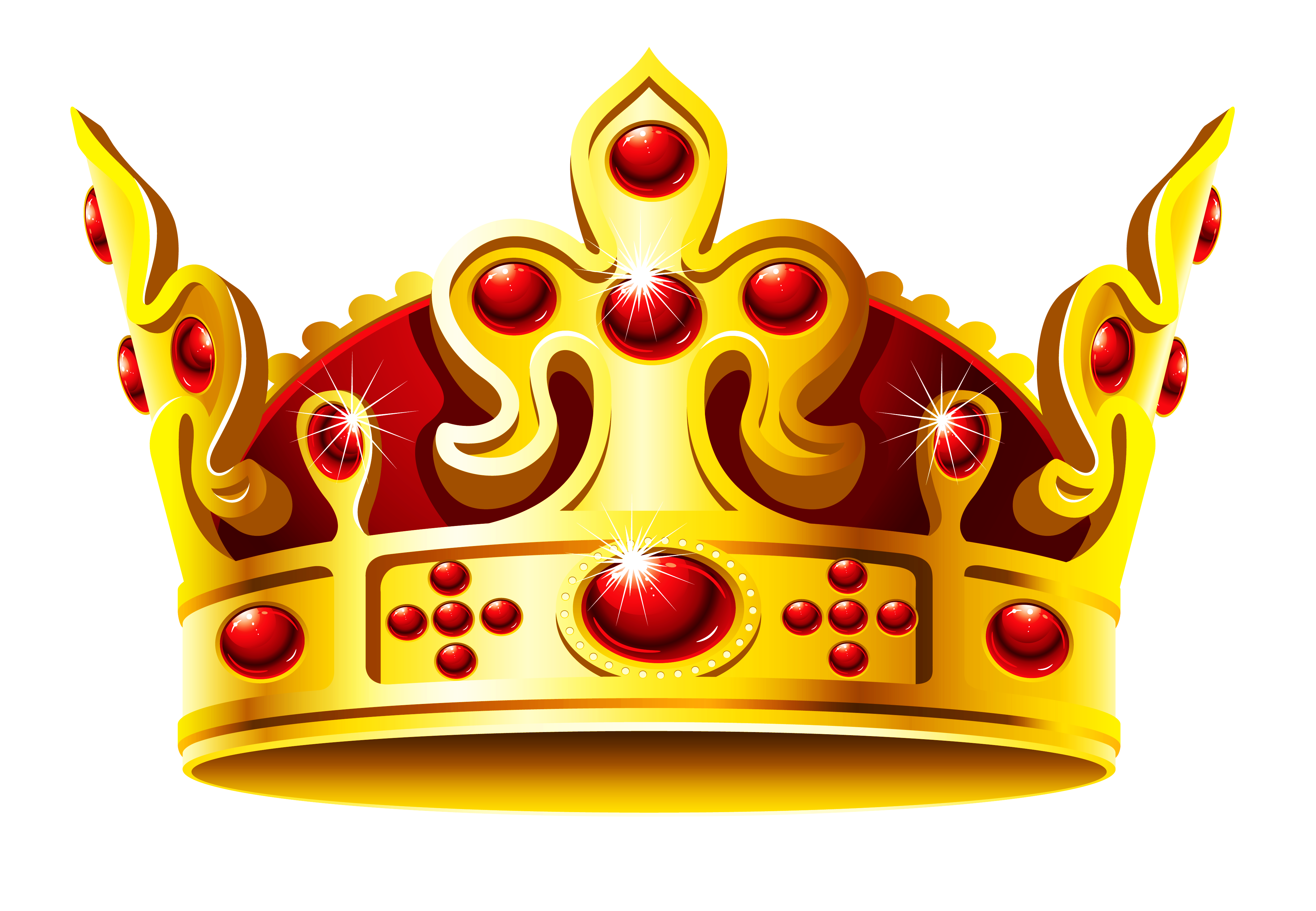 Gold Crown Clipart - Gallery - PNG HD Crown