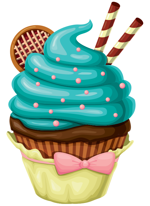 speciality-cupcake.png (510×700) - PNG HD Cupcake