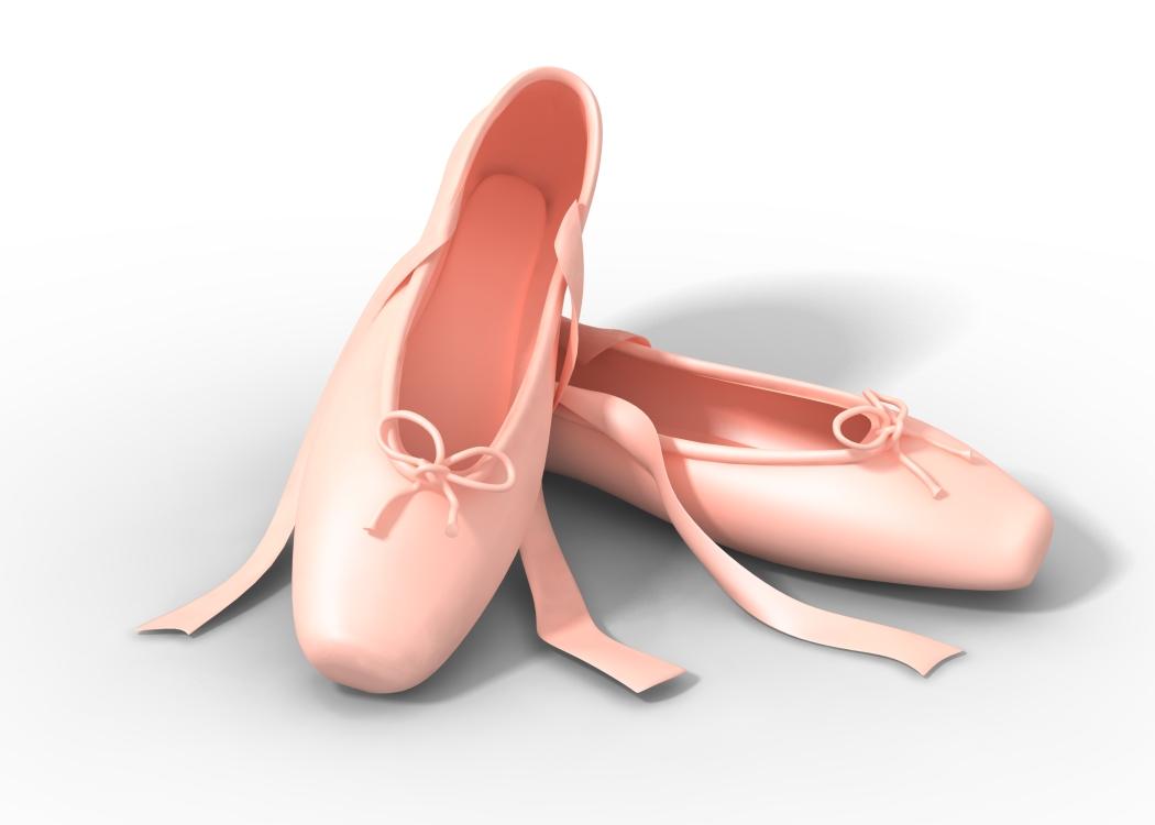 Colorful Dance Shoe Clipart - PNG HD Dance Shoes