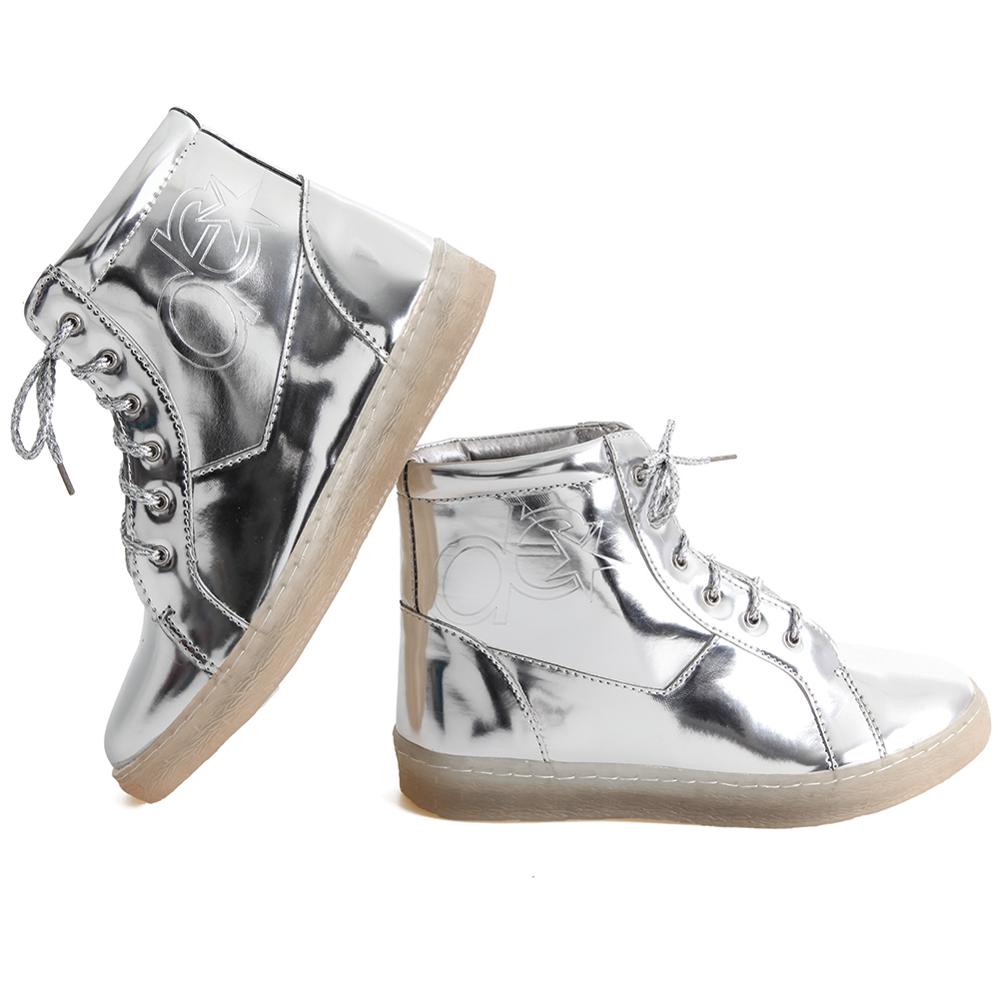 Metallic Hip Hop Shoe - Dance Electric : DE100 - PNG HD Dance Shoes