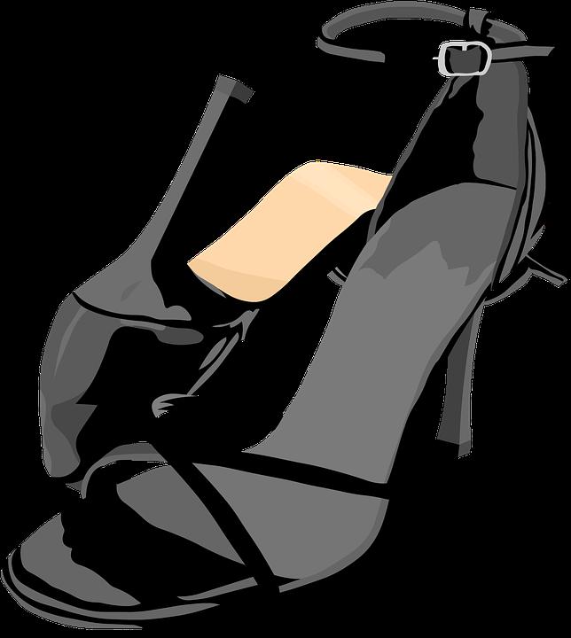 Shoes, Sandals, High Heels, Fashion - PNG HD Dance Shoes