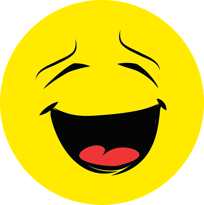 Emotion, Face, Happy, Laughing, Round - PNG HD Emotions Faces