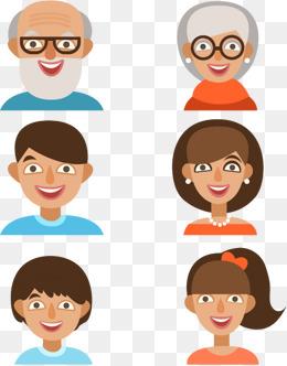 Family members vectors Avatar, Family Creative, Cartoon Family, Vector  Avatar PNG and Vector - PNG HD Family Members