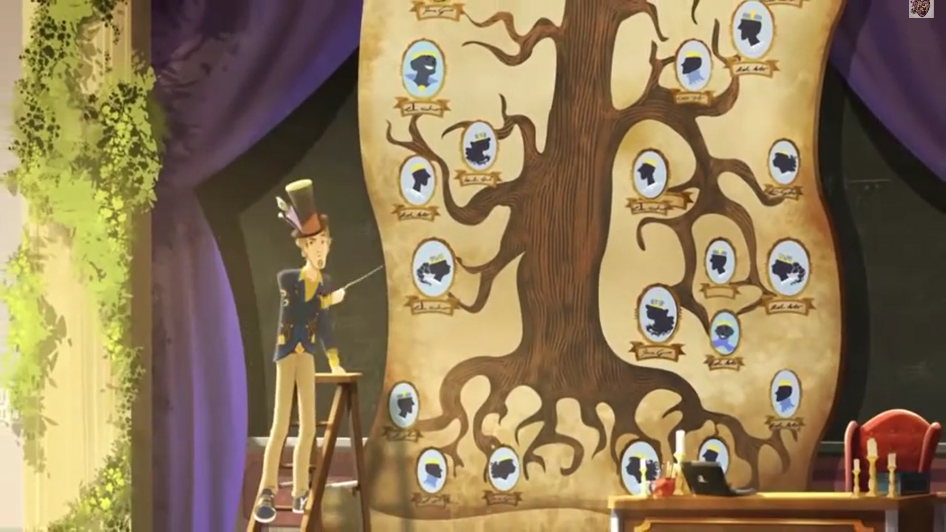 Jack and a Family Tree - Blondie Branches Out.png - PNG HD Family Members