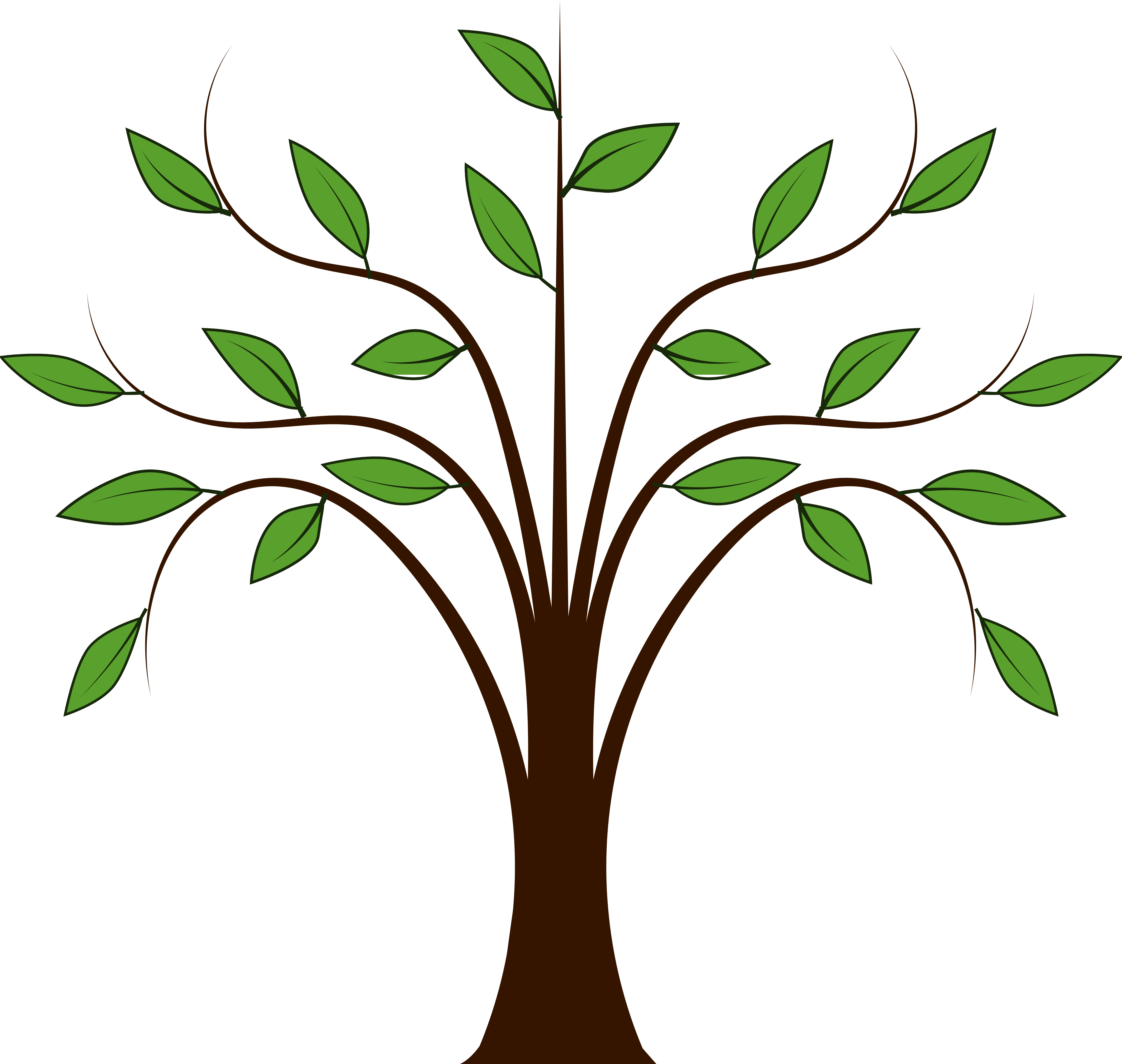 Trees Family Tree Clipart Free Clipart Images Clipartix_pluspng - PNG HD Family Members