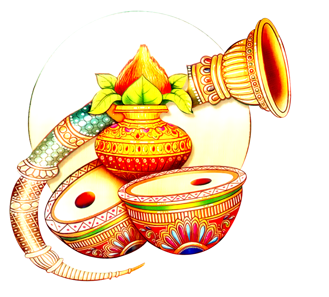 Indian Wedding Clipart #721 - PNG HD For Marriage