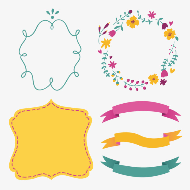 Vector elements of marriage, Free, Png Material, Hd Free PNG and Vector - PNG HD For Marriage