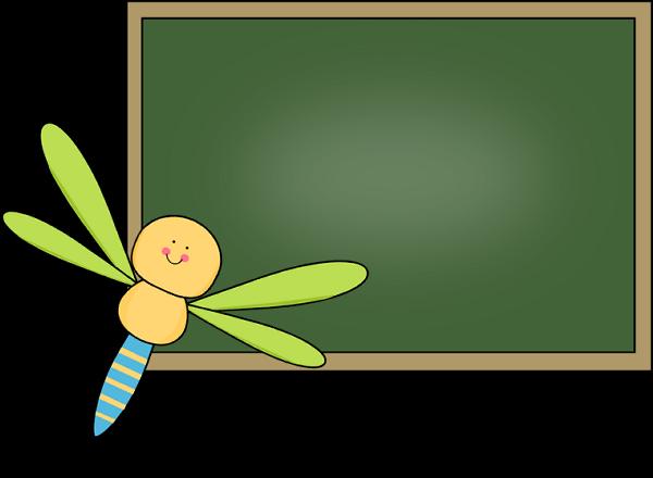 Chalkboard for School Teachers Clip Art Free - PNG HD For Teachers