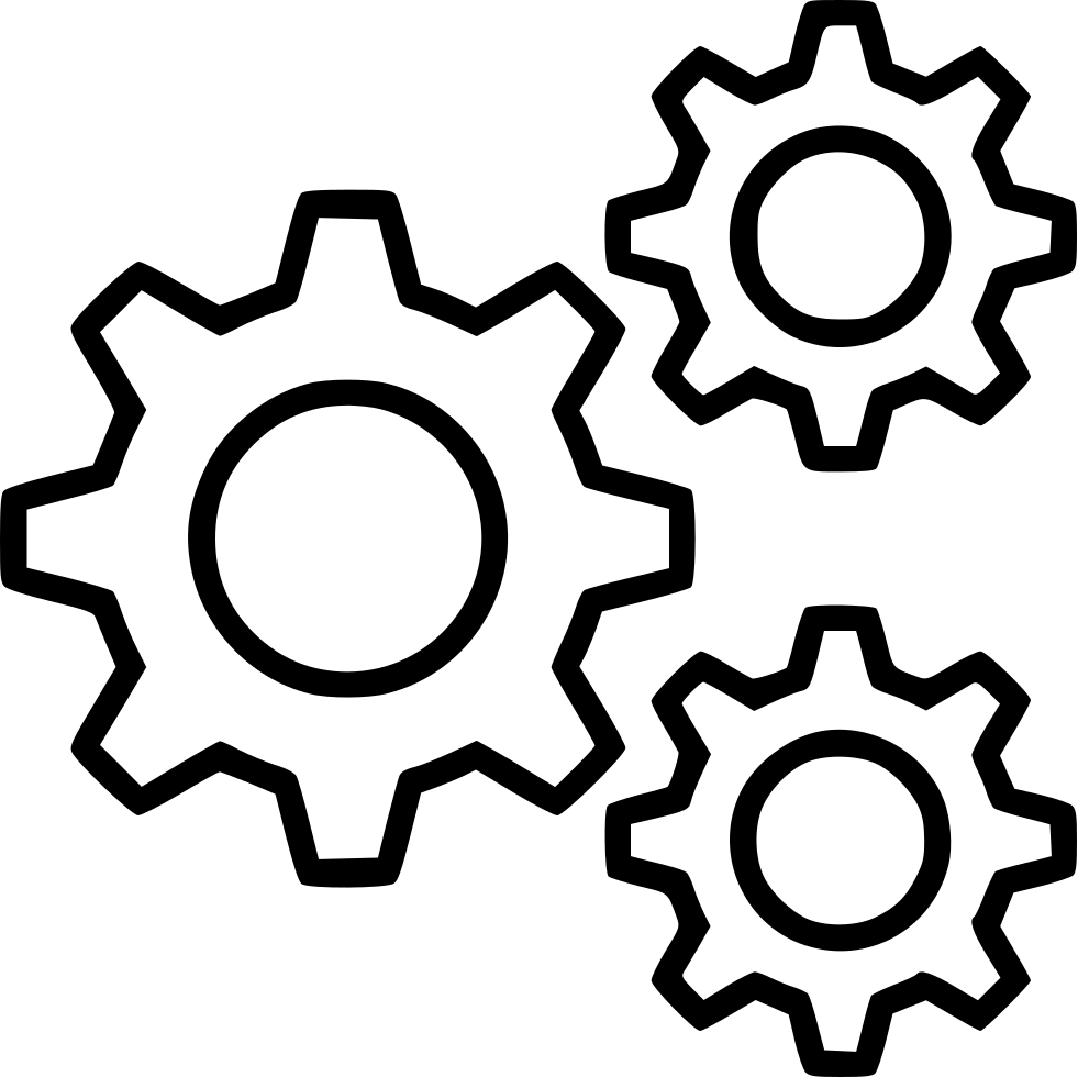 Cog Cogs Gear Gears Mechanism Preferences Settings Comments - PNG HD Gears Cogs