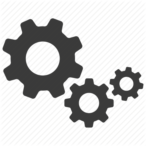 cogs, configure, gears, options, preferences, settings icon - PNG HD Gears Cogs
