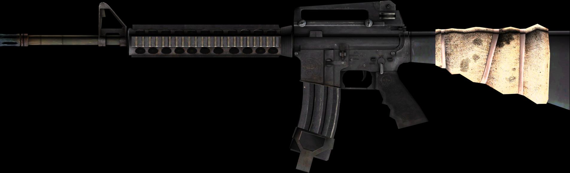 M16 USA assault rifle PNG
