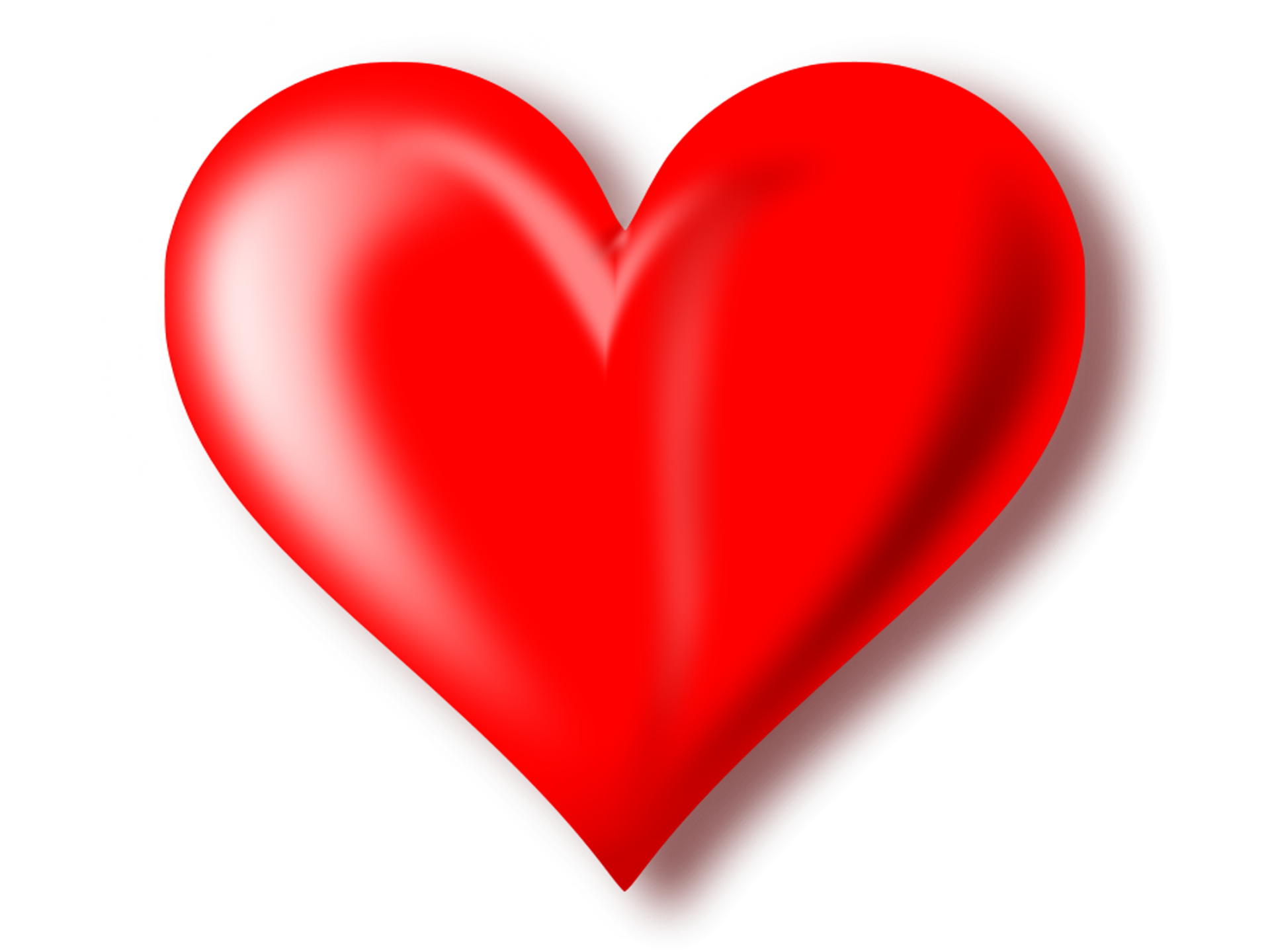 3D Red Heart Transparent Background - Heart PNG HD Transparent Background - PNG HD Heart