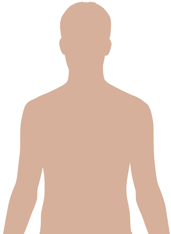 File:Man shadow - upper.png - PNG HD Human Body Outline