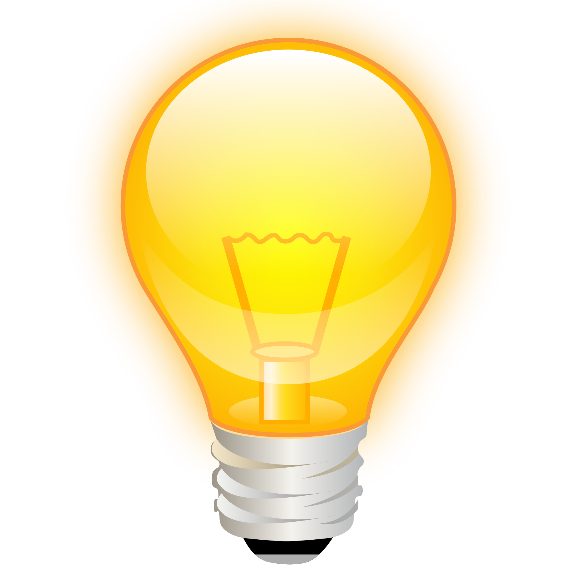 New SVG image - PNG HD Light Bulb