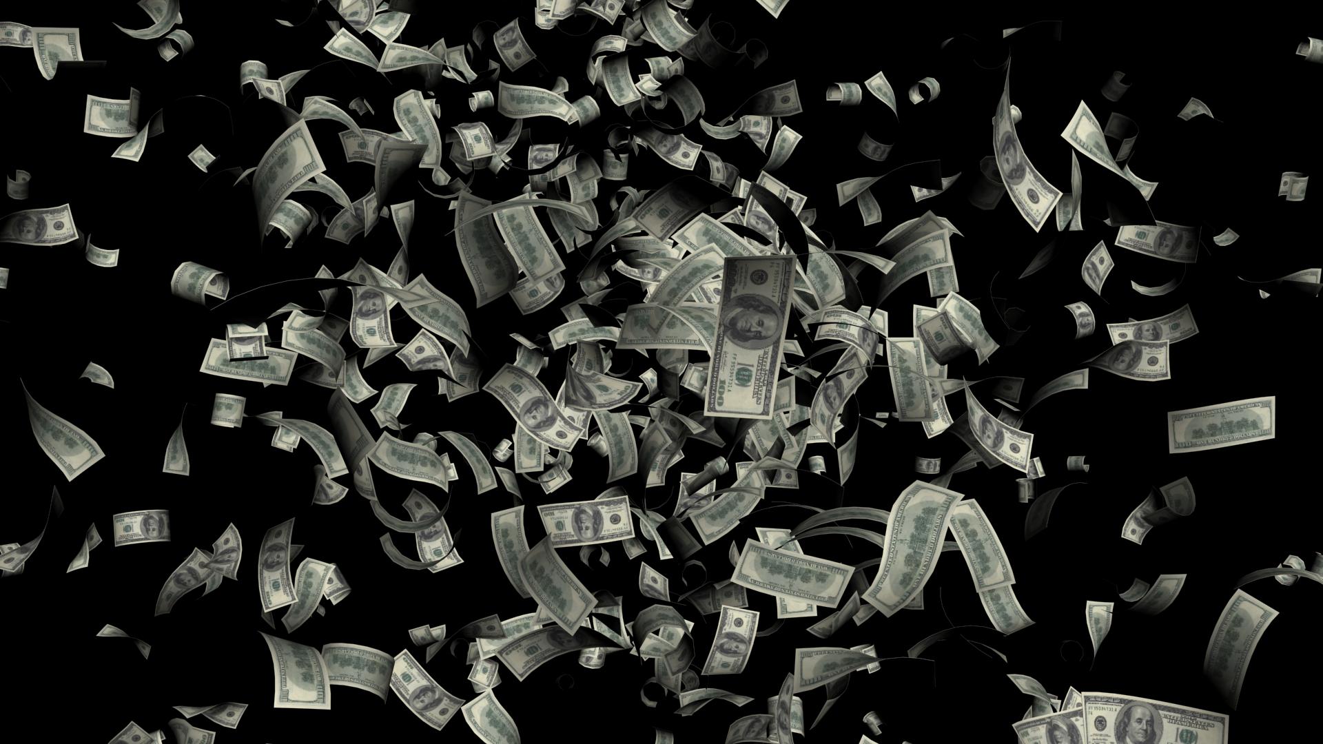 Falling money PNG - PNG HD Money