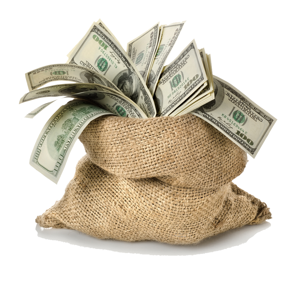 Money Bag Transparent Background - PNG HD Money