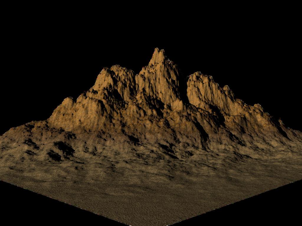 Mountain - PNG HD Mountain Range