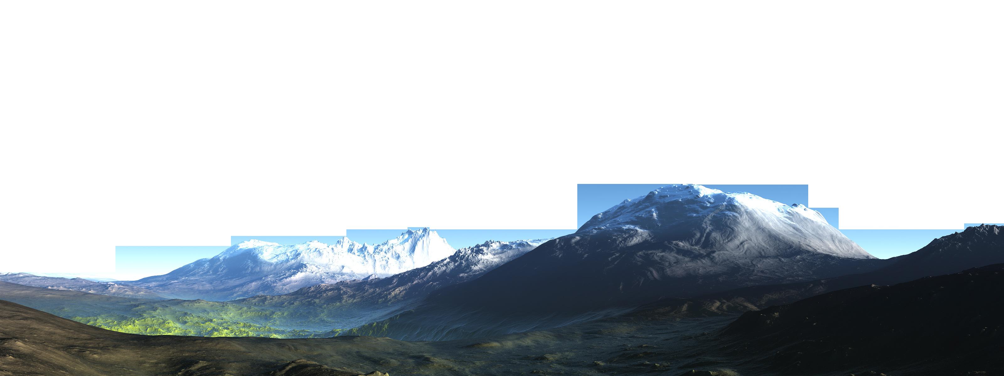 Mountain PNG File - PNG HD Mountain Range