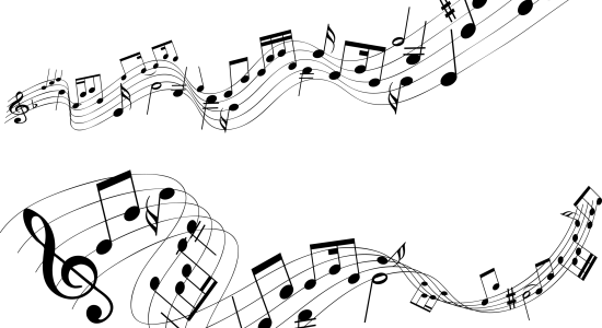 PNG HD Music Notes - 152253