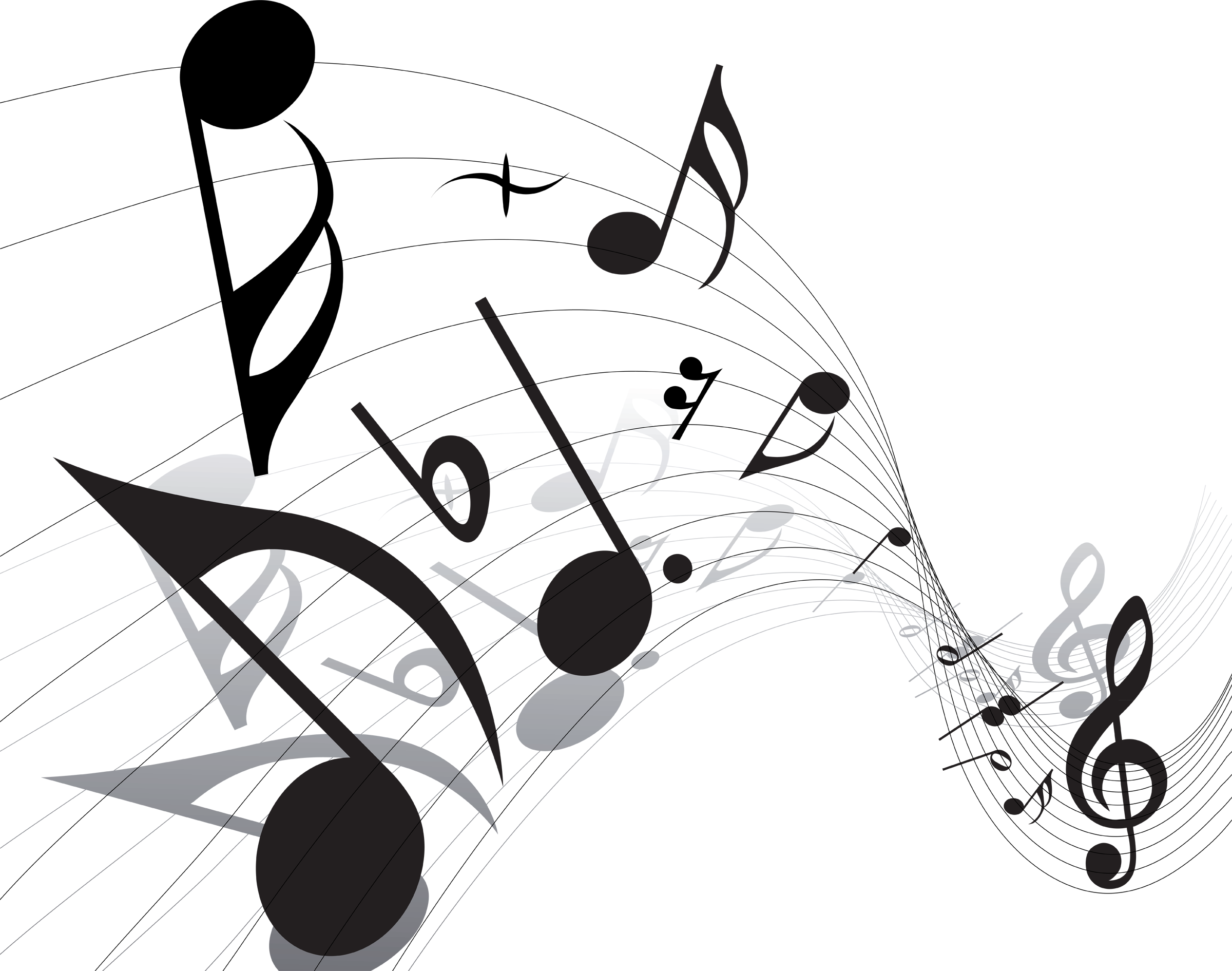 Music Notes Png Vector - ClipArt Best - PNG HD Music Notes