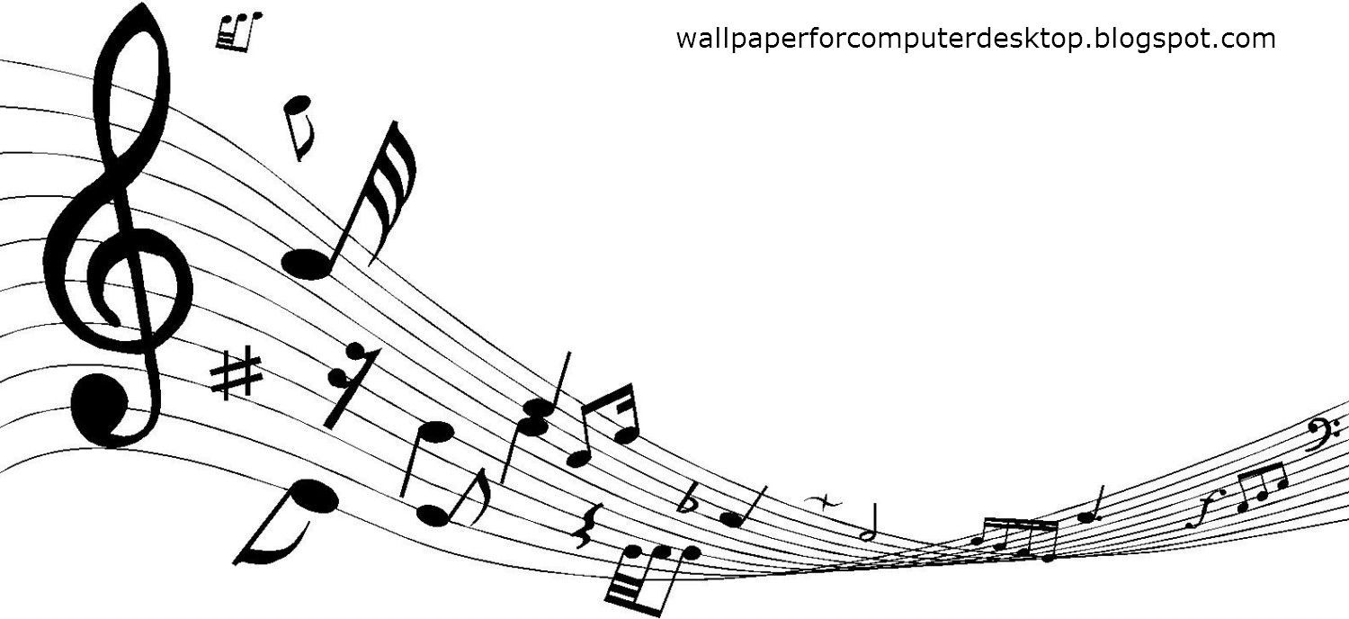Musical Notes Background HD desktop wallpaper High Definition . PlusPng.com - HD  Wallpapers - PNG HD Music Notes