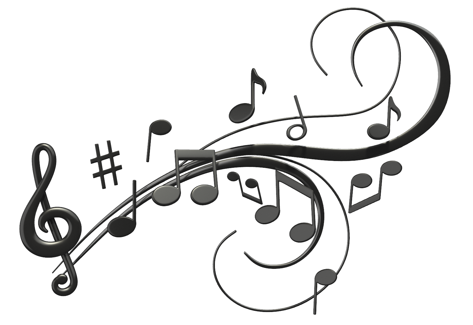 PNG HD Music Notes - 152244