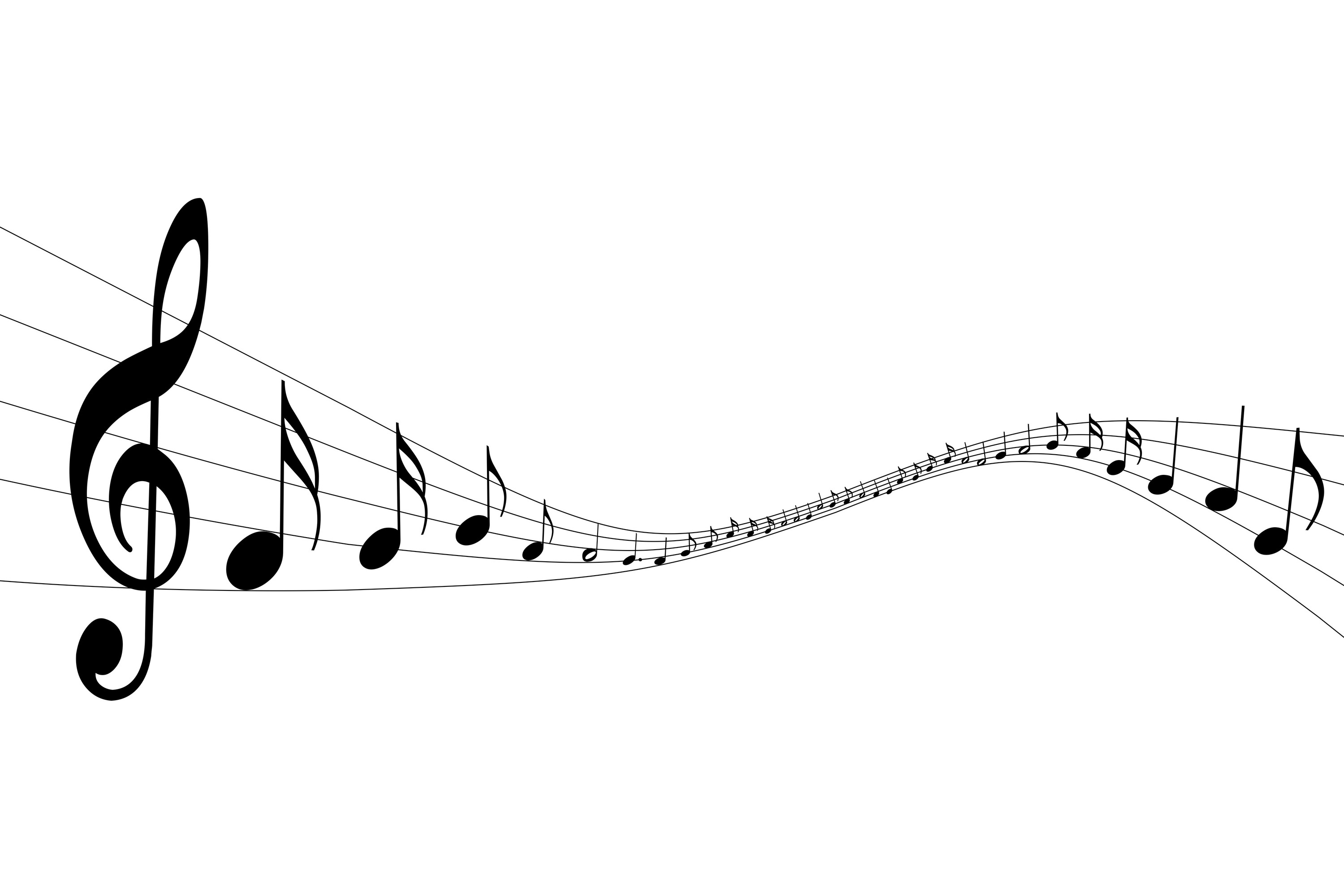 PNG HD Music Notes - 152243